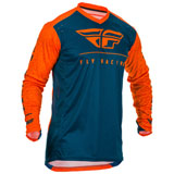 Fly Racing Lite Hydrogen Jersey Orange/Navy