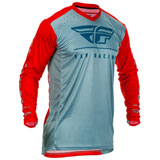 Fly Racing Lite Hydrogen Jersey Red/Slate/Navy