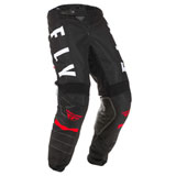 Fly Racing Kinetic K120 Pants Black/White/Red