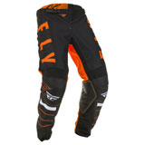 Fly Racing Kinetic K120 Pants Orange/Black/White