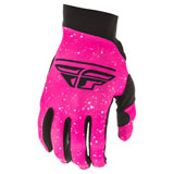 Fly Racing Women's Pro Lite Gloves 20 Neon Pink/Black