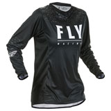 Fly Racing Women's Lite Jersey Black/White