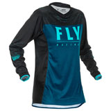 Fly Racing Women's Lite Jersey Navy/Blue/Black