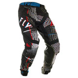 Fly Racing Lite Hydrogen Glitch Pants Black/Red/Blue