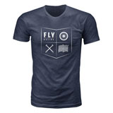 Fly Racing All Things Moto T-Shirt Midnight Navy