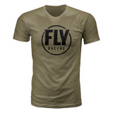 Fly Racing Coaster T-Shirt Military Green