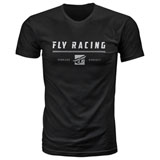 Fly Racing Pursuit T-Shirt Black