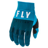 Fly Racing Youth F-16 Gloves Navy/Blue/White