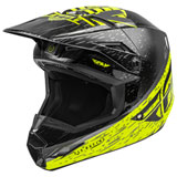 Fly Racing Youth Kinetic K120 Helmet Hi-Vis/Grey/Black