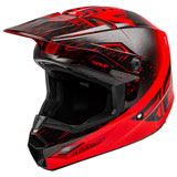 Fly Racing Youth Kinetic K120 Helmet Red/Black