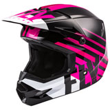 Fly Racing Youth Kinetic Thrive Helmet Pink/Black/White