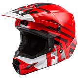 Fly Racing Youth Kinetic Thrive Helmet Red/White/Black