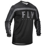 Fly Racing Youth F-16 Jersey 20 Black/Grey