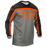 Fly Racing Youth F-16 Jersey 20 Grey/Black/Orange