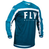 Fly Racing Youth F-16 Jersey 20 Navy/Blue/White