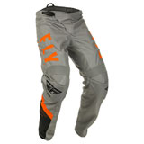 Fly Racing Youth F-16 Pants Grey/Black/Orange