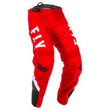 Fly Racing Youth F-16 Pants 20 Red/Black/White