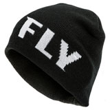 Fly Racing Fitted Beanie Black/White