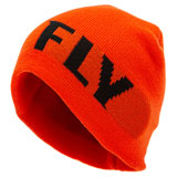 Fly Racing Fitted Beanie Red/Black