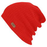 Fly Racing Slouch Beanie Red
