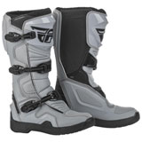 Fly Racing Maverik Boots Grey/Black