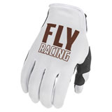 Fly Racing Lite LE Gloves White/Copper