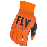 Fly Racing Pro Lite Gloves Orange/Black