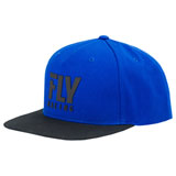Fly Racing Logo Snapback Hat 19 Blue