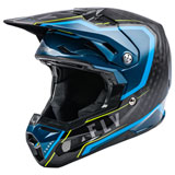 Fly Racing Formula Carbon Axon Helmet Black/Blue/Hi-Vis