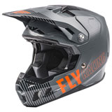 Fly Racing Formula CC Primary Helmet Matte Grey/Orange