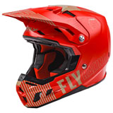 Fly Racing Formula CC Primary Helmet Red/Khaki