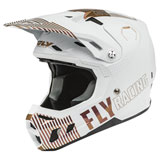 Fly Racing Formula CC Primary LE Helmet White/Copper