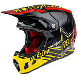 Fly Racing Formula CC Rockstar Helmet Black/Red/Yellow