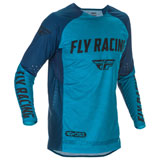 Fly Racing Evolution DST Jersey Blue/Navy