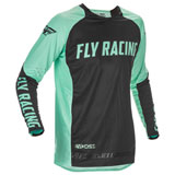 Fly Racing Evolution DST LE Jersey Mint/Black