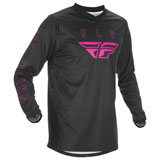 Fly Racing F-16 Jersey Black/Pink
