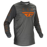 Fly Racing F-16 Jersey 2021 Grey/Orange