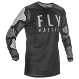 Fly Racing Kinetic K221 Jersey Black/Grey