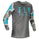 Fly Racing Kinetic K221 Jersey Grey/Blue
