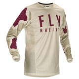 Fly Racing Kinetic K221 Jersey Stone/Berry