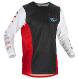 Fly Racing Kinetic Mesh Jersey Red/White/Blue
