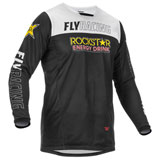 Fly Racing Kinetic Mesh Rockstar Jersey Black/Red/White