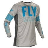 Fly Racing Lite Jersey Grey/Blue
