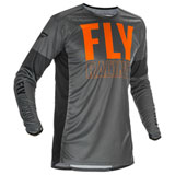 Fly Racing Lite Jersey Grey/Orange