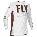 Fly Racing Lite LE Jersey White/Copper
