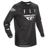 Fly Racing Universal Jersey Black/White