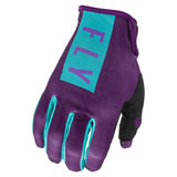 Fly Racing Women's Pro Lite Gloves Purple/Blue