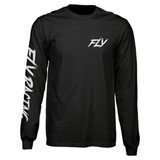 Fly Racing Fusion Long Sleeve T-Shirt Black