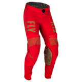 Fly Racing Lite Pants Red/Khaki