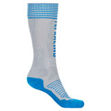 Fly Racing Thick MX Pro Socks Grey/Blue
